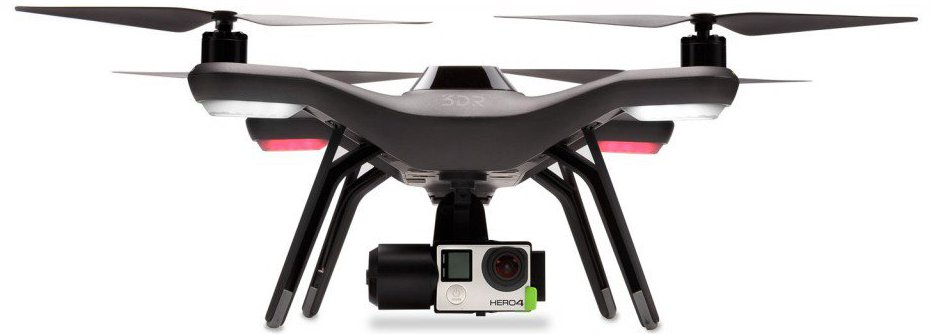 Linux-based 3DR drone features GoPro camera tricks