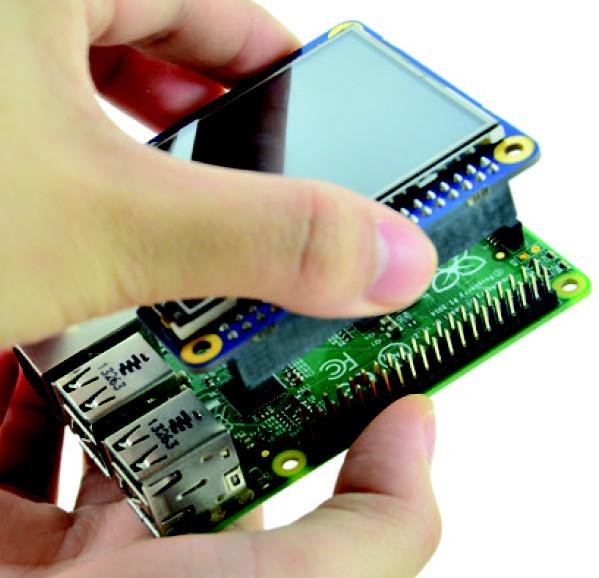 Raspberry Pi gains $35 HAT-based touchscreen