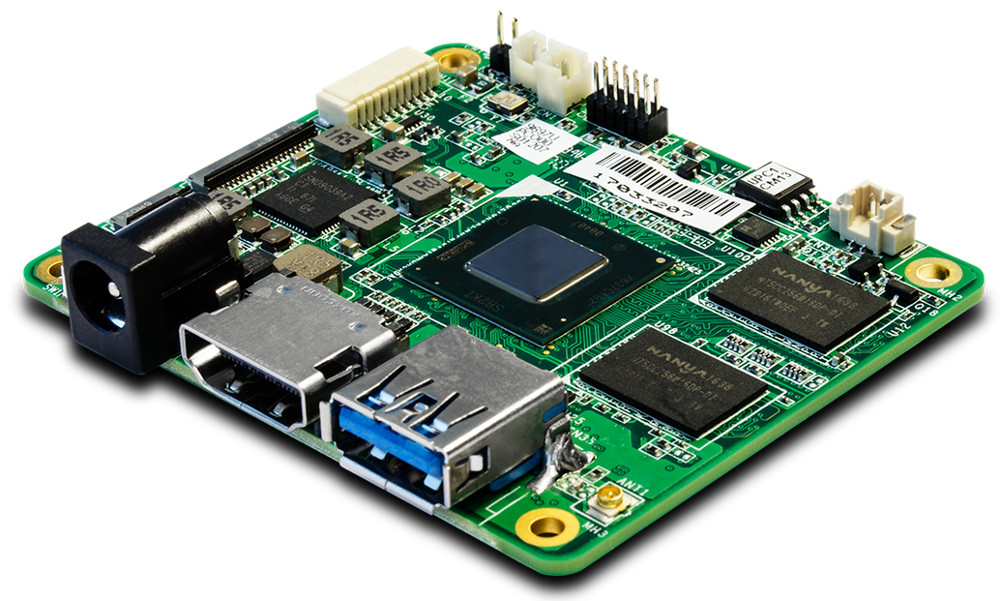 UP Core SBC is a smaller, wireless version of the Atom-based UP