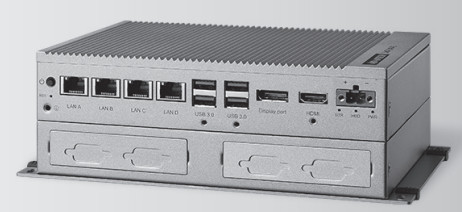 Rugged Skylake box PC offers up to 8x USB and 5x HDMI ports
