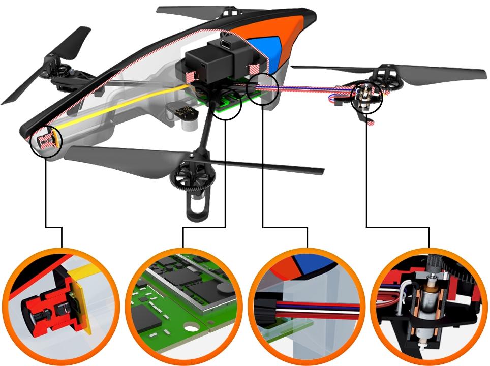 linux based quadrocopter gains flight recorder. Black Bedroom Furniture Sets. Home Design Ideas