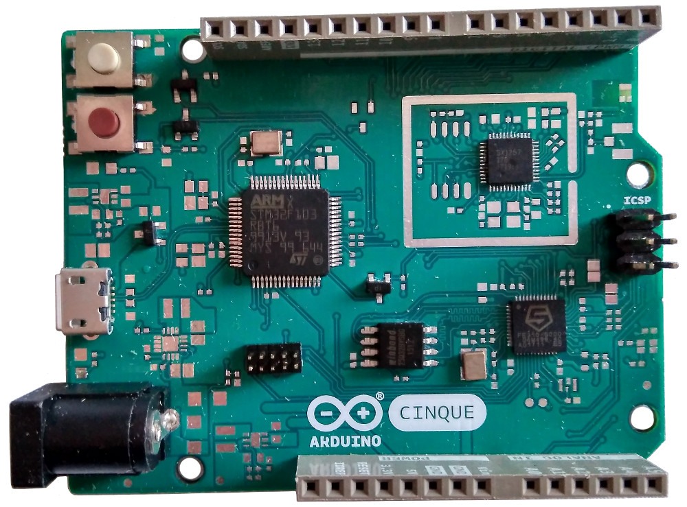 Arduino cinque board taps sifive risc v soc and an esp32 for Risc v architecture