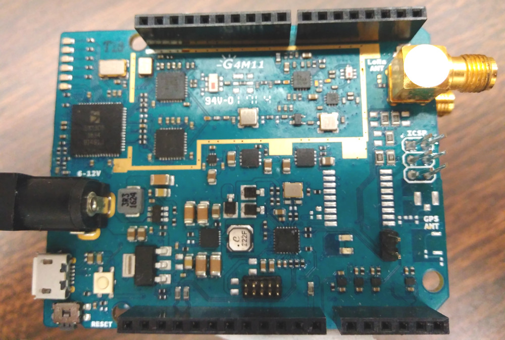 Arduino shows off LoRa gateway and node shields
