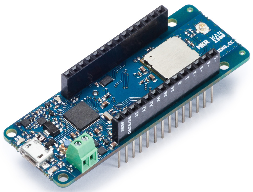 Arduino unveils tiny, battery powered MKR boards for LoRa and 3G