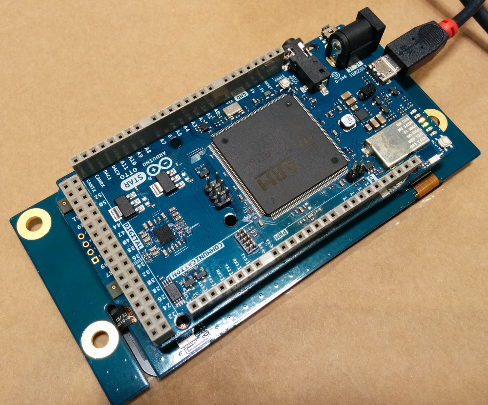 Arduino STAR Otto features STM32, multimedia, WiFi