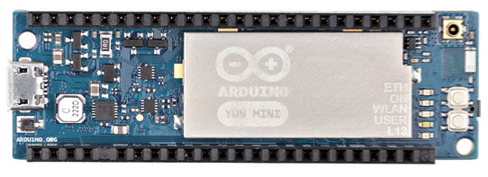 Arduino shrinks linux ready yun to mini size