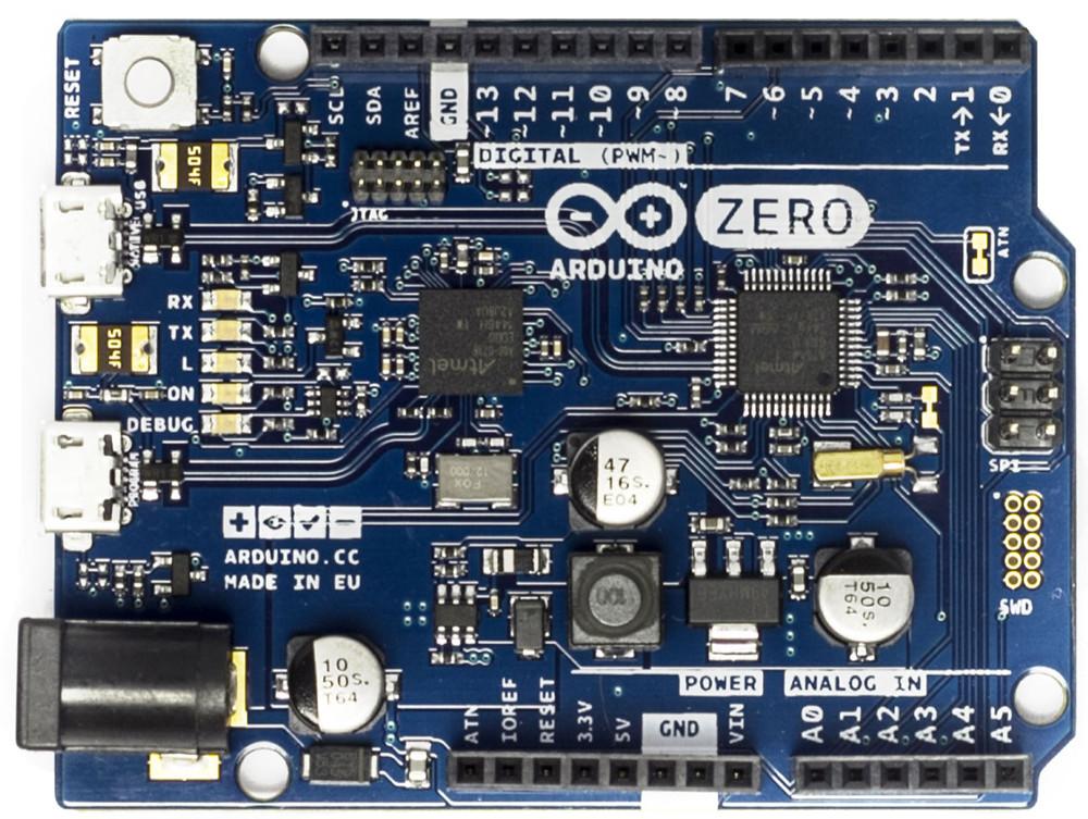 Arduino MKRZero shrinks Zero to MKR1000 dimensions