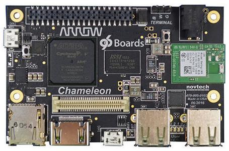 FPGA-based 96Boards SBC boasts quantum-resistant crypto