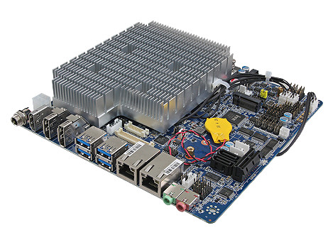 Intel Core based thin Mini-ITX supports extended temperatures