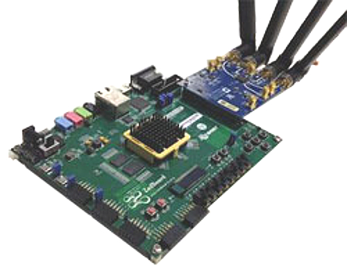 Soft radio dev kits run Linux on ARM/FPGA SoCs