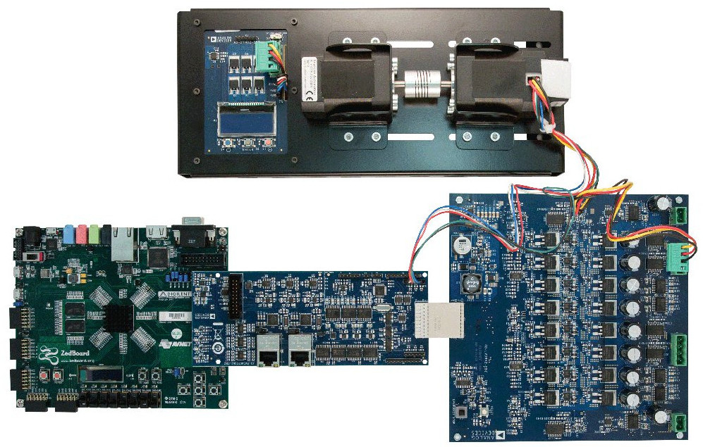 Open-spec motor control kit runs Linux on Zynq SoC