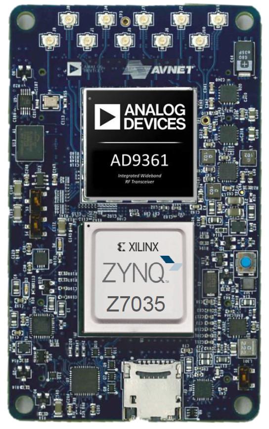 Software Defined Radio Module Runs Linux On Zynq Soc