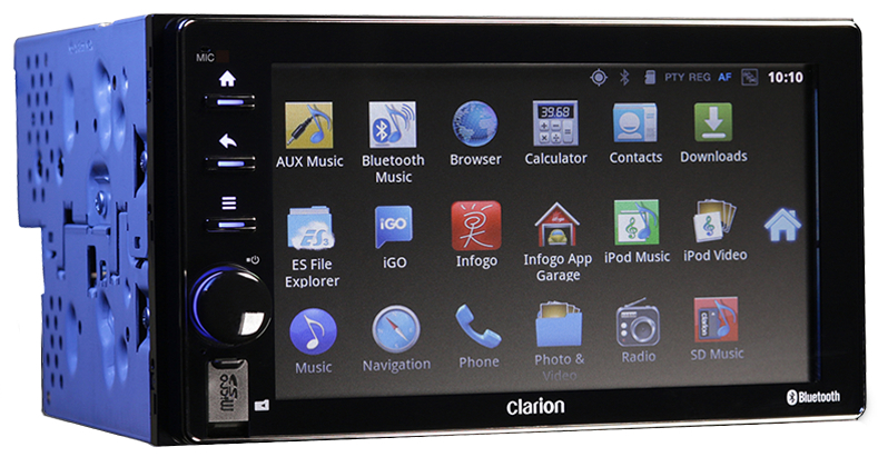 Clarion Android IVI head unit includes WiFi hotspot