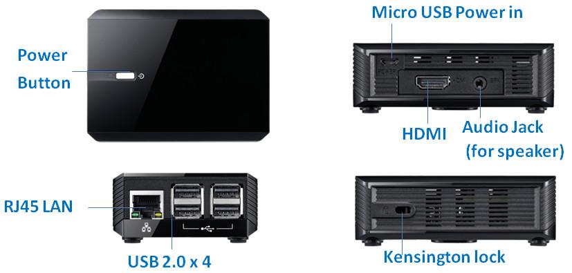 Compact thin client runs on Raspberry Pi 3 B+