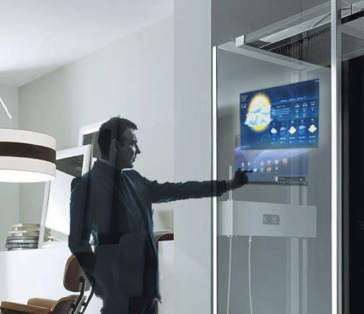 Android Kitchen Computers Offer Transparent Touchscreens