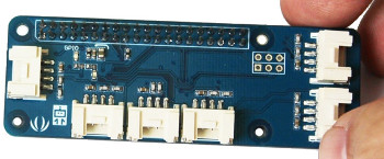 Raspberry Pi Zero IoT adapter adds Grove modules and more