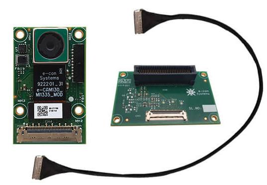13MP MIPI-CSI2 cam plugs into Variscite i MX8M board