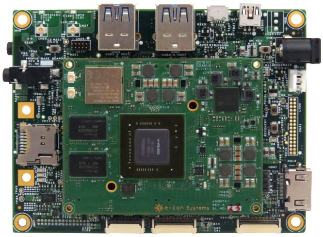 Tiny Tegra K1 module offers Linux BSP, open-spec baseboard