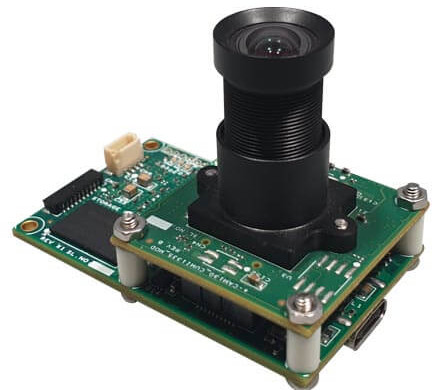 13MP UVC camera for multi-cam applications features FPGA and buffer