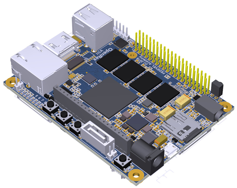 Open source i MX6 SBC offers Pi and Arduino expansion