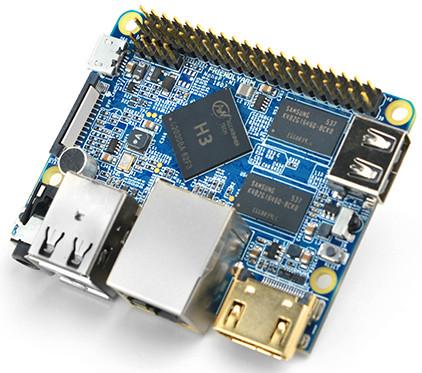 Quad-core $11 hacker SBC runs Linux on Allwinner H3