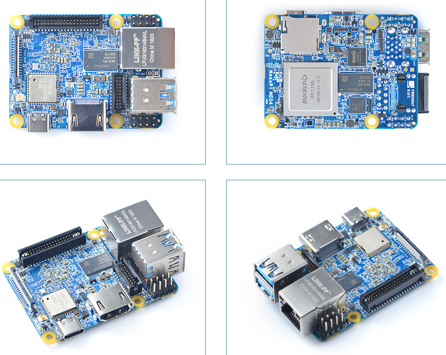 NanoPi Neo4 SBC Breaks RK3399 Records for Size and Price