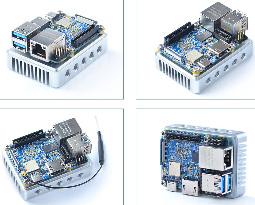 NanoPi Neo4 SBC breaks RK3399 records for size and price