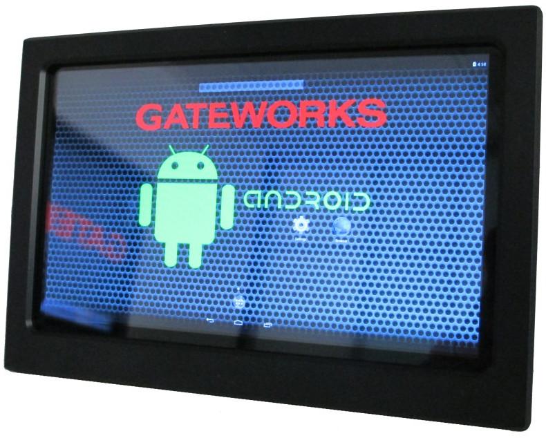 Smart touchscreen dev kit runs Android on quad-core i.MX6