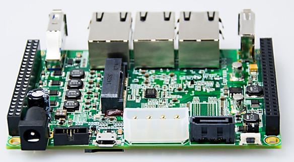 $39 network switching Pico-ITX SBC runs Linux on Cortex-A53