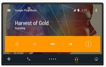 android auto music app not working