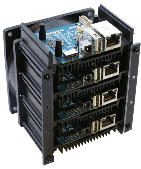 Single-unit version of Odroid-MC1 cluster computer adds