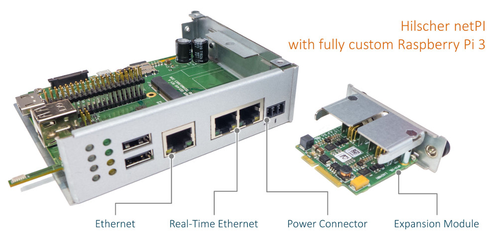 Raspberry pi based computer offers real time ethernet for Raspberry pi 3 architecture