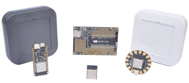 ESP32 dev board ships with multiple IoT kit options