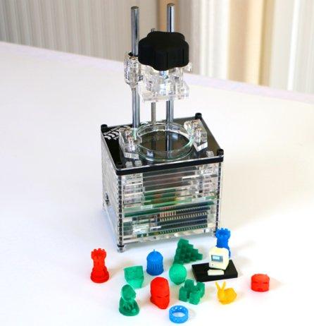 Tiny $269 3D resin printer runs Linux on Raspberry Pi