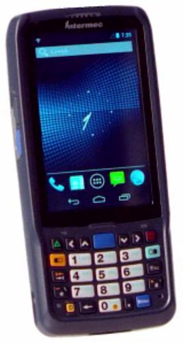 Rugged Handheld Runs Android Scans Barcodes