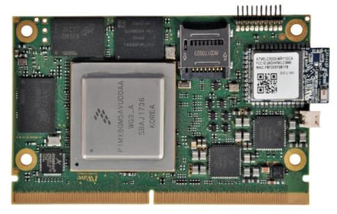 SMARC module features hexa-core i MX8 QuadMax