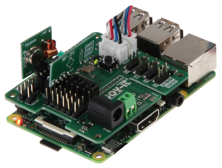 RF-enabled Raspberry Pi add-on brings Google Assistant to gizmos
