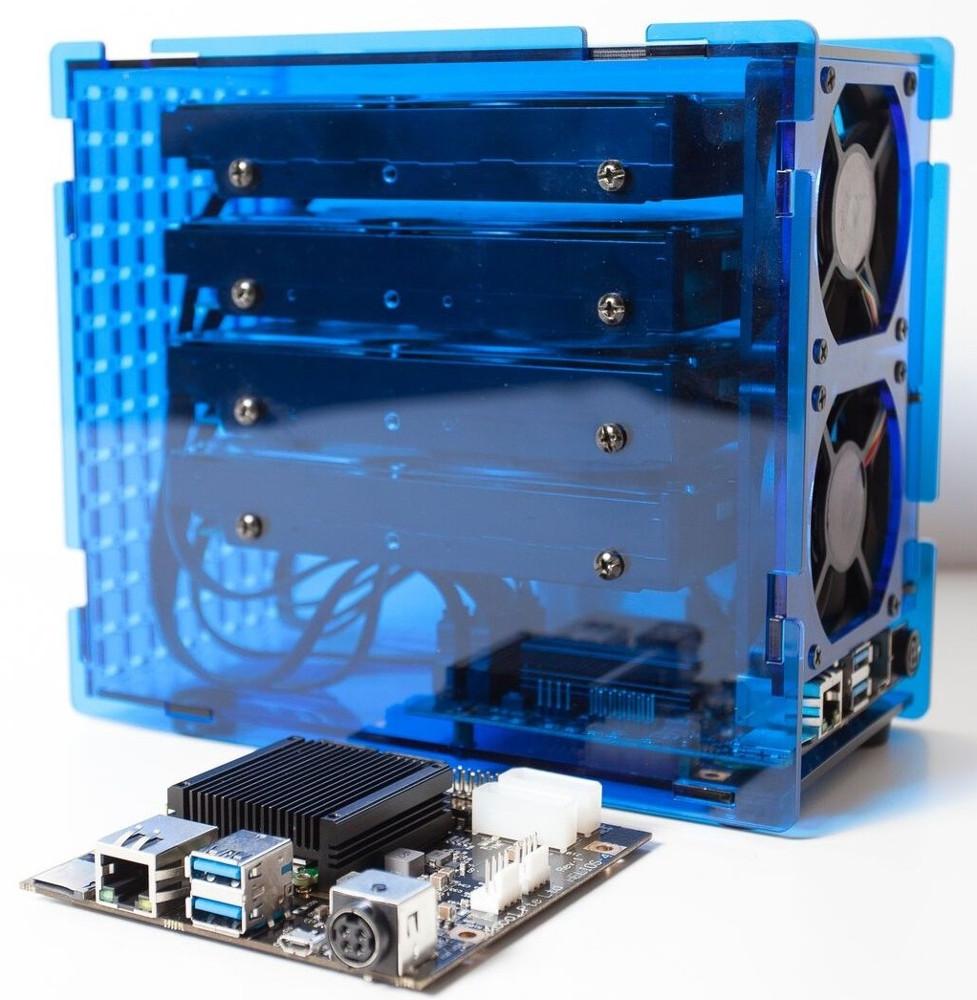 Open source, $125 NAS SBC has four SATA 3 0 ports
