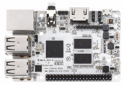RPi 3-like Le Potato SBC showcases fast Amlogic S905X SoC