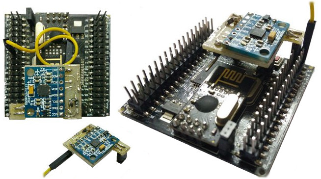Open source arduino compatible board has wifi bluetooth rf
