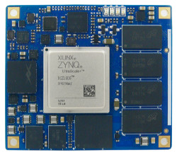 Linux-driven Zynq UltraScale+ module ships with open-spec carrier board