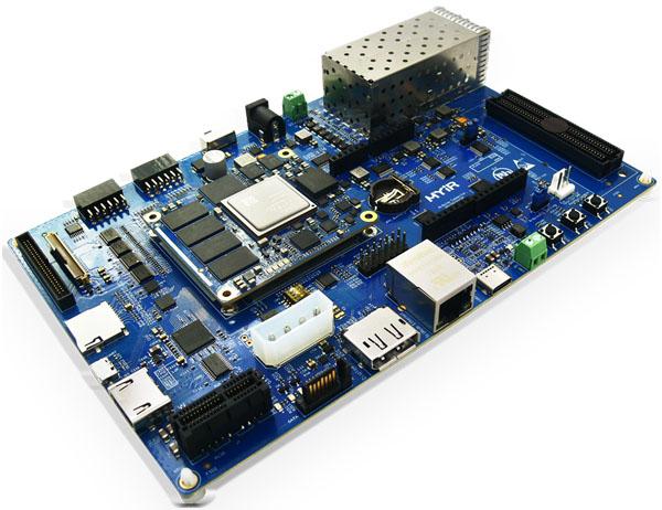 Linux-driven Zynq UltraScale+ module ships with open-spec