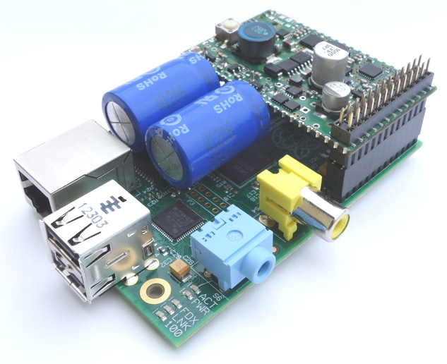 Raspberry Pi Supercapacitor Micro Ups Seeks Funding