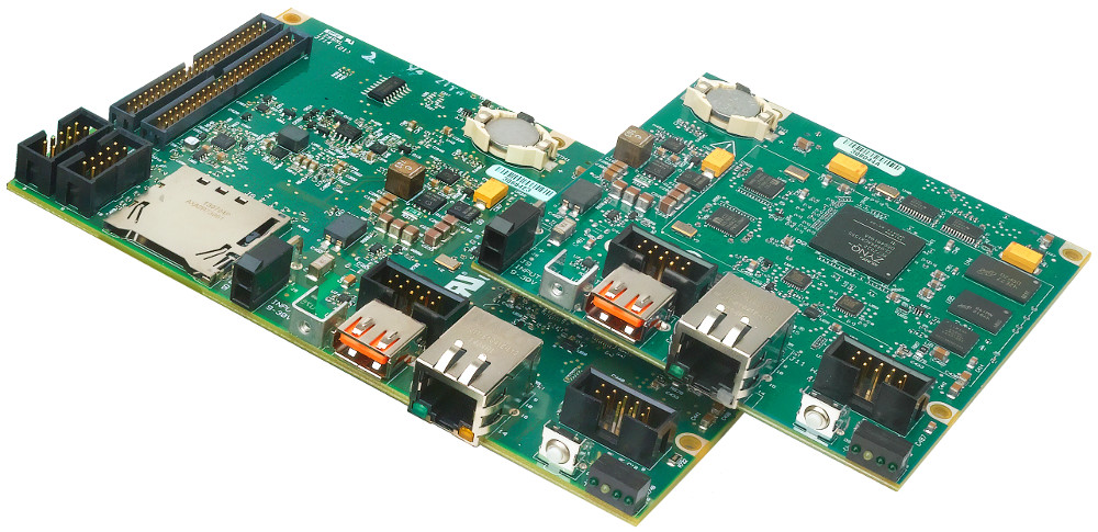 Industrial and DAQ controllers run Linux on quad-core Atom