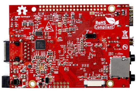 Open spec Allwinner A64 hacker board runs Linux or Android