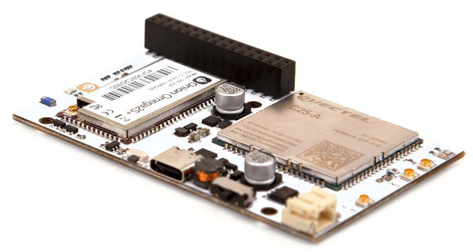 Open-spec Omega2 LTE SBC features Cat 4 and GNSS