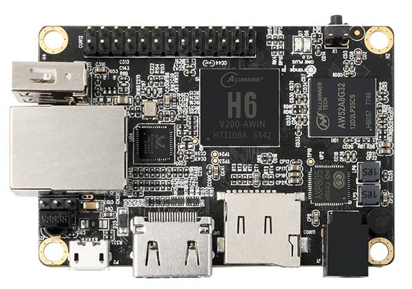 Latest $20 Orange Pi runs Android 7 0 on new Allwinner H6