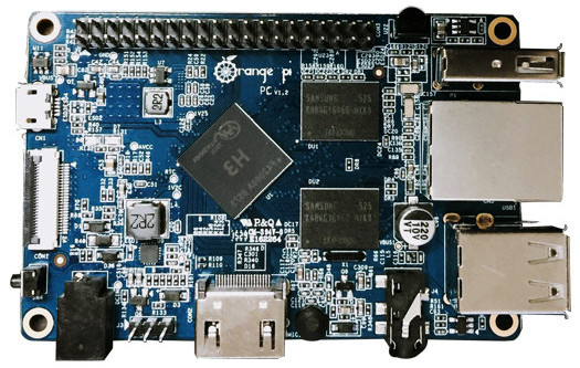 $15 Orange Pi PC hacker SBC packs 1 6GHz quad-core SoC