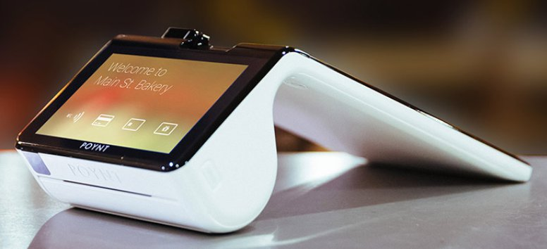 Dual-screen Android PoS device supports EMV