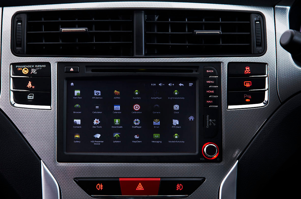 New Malaysian hatchback sports Android IVI system